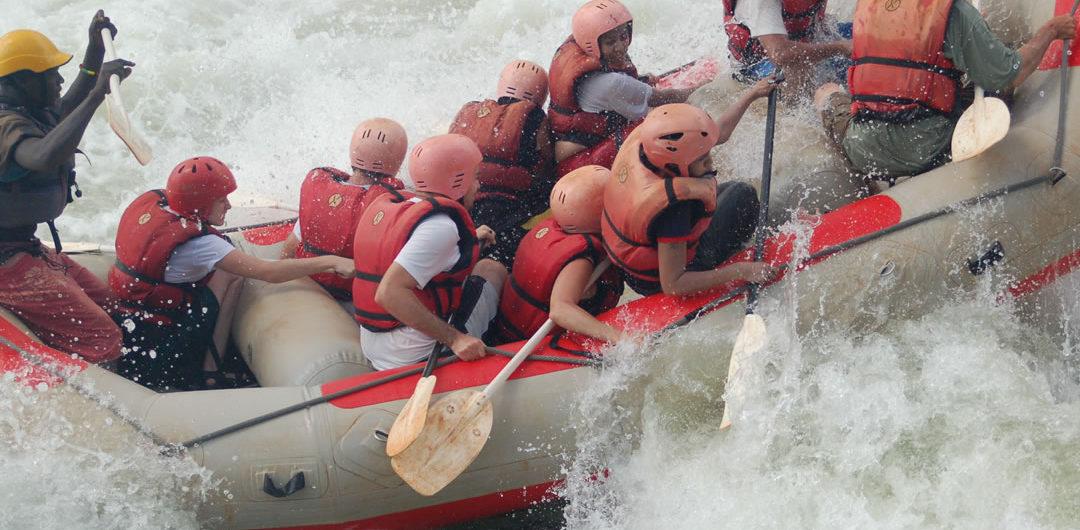 Uganda Nile white water Rafting